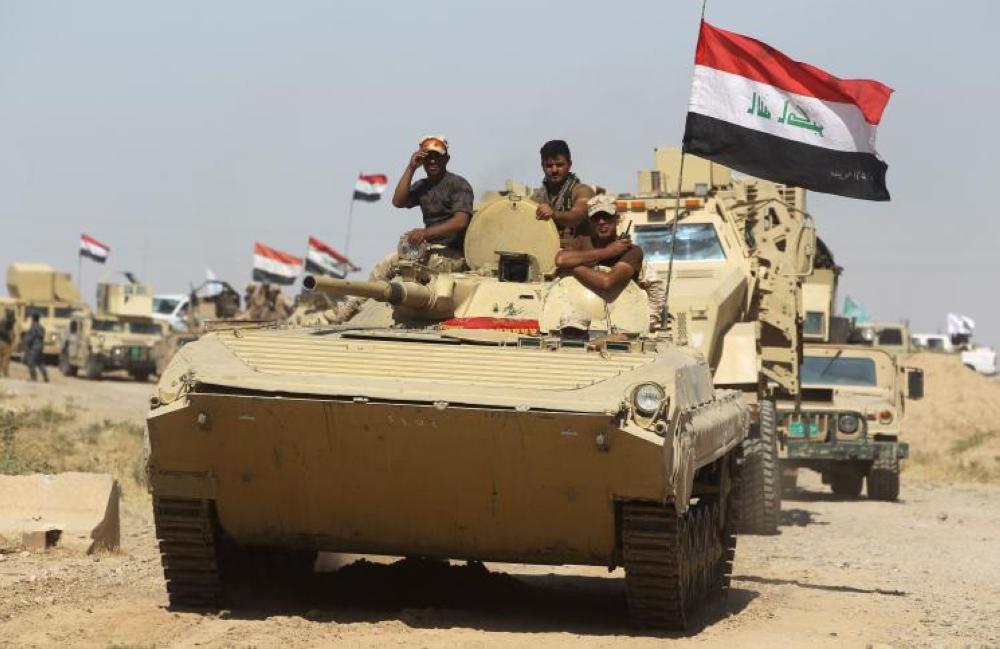 القوات العراقية تستعيد وسط الحويجة من