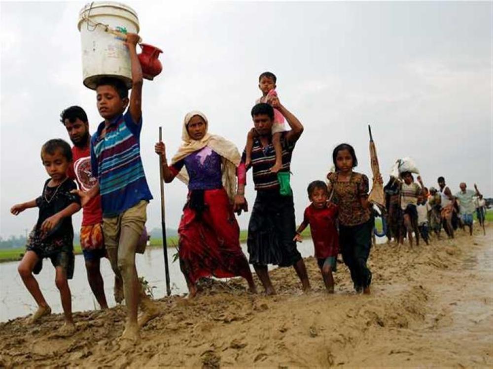 بنغلاديش تنشئ أكبر المخيمات في العالم لإيواء الروهينغا