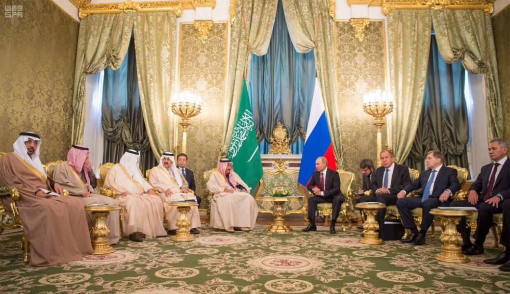 King Salman and Russian President hold bilateral meeting