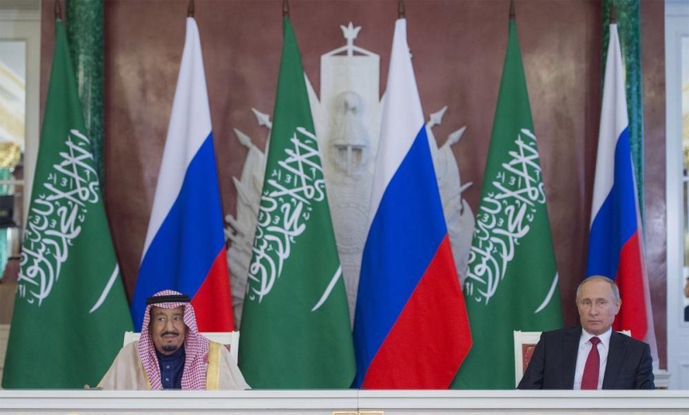 King Salman and Putin Attend Ceremony of Exchanging Agreements, MoUs and Cooperation Programs