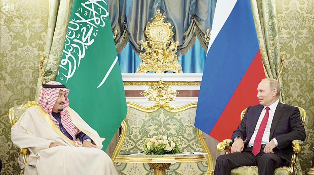 بوتين لخادم الحرمين: زيارتكم ستعطي زخماً قوياً لعلاقات بلدينا