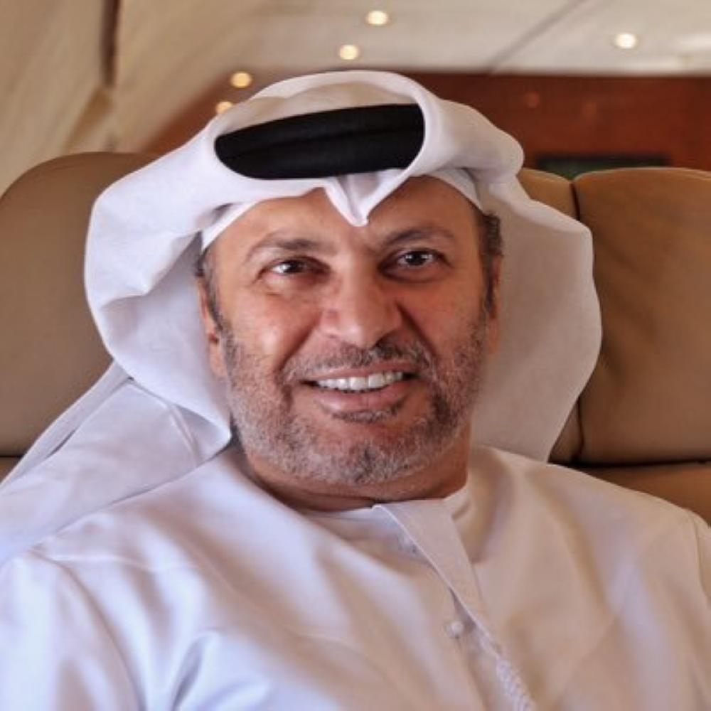 وزير الدولة للشؤون الخارجية بدولة الإمارات.