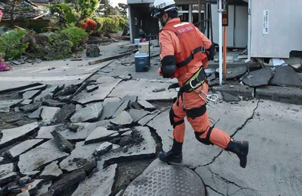 زلزال قوته 6.3 درجات يضرب الساحل الشرقي لليابان
