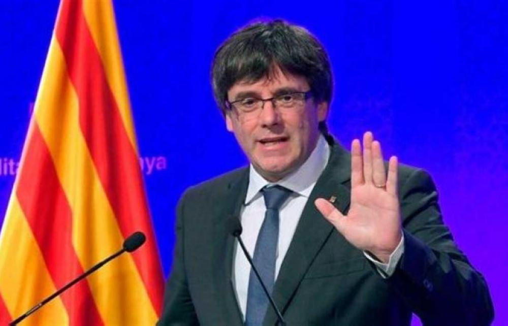 رئيس إقليم كاتالونيا كارليس بيغديمونت.