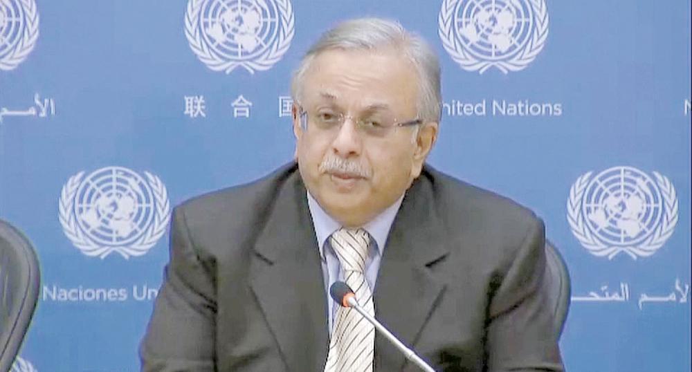 المعلمي: الأمم المتحدة أشادت بإجراءات التحالف في اليمن
