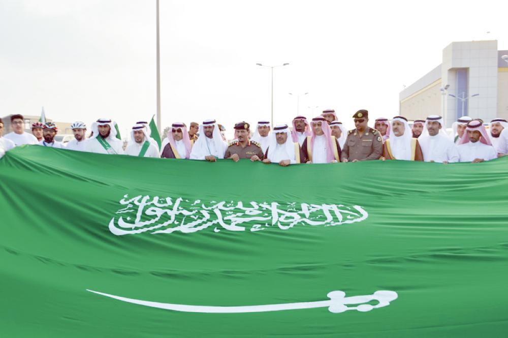 المشاركون في الاحتفالية. (تصوير: ماجد الرحماني)