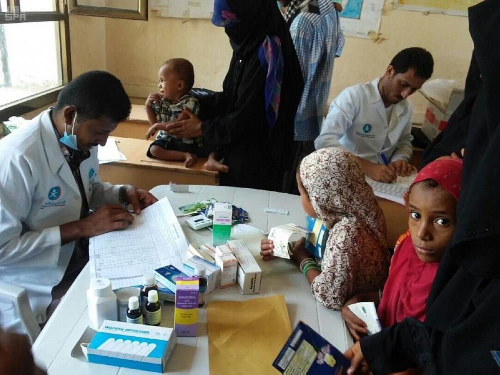مركز الملك سلمان ينفّذ مشروعاً لمكافحة سوء التغذية للأم والطفل بالحُدَيدة