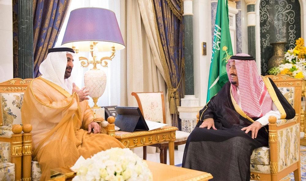 King Salman receives UAE Ambassador on occasion of the end of his tenure