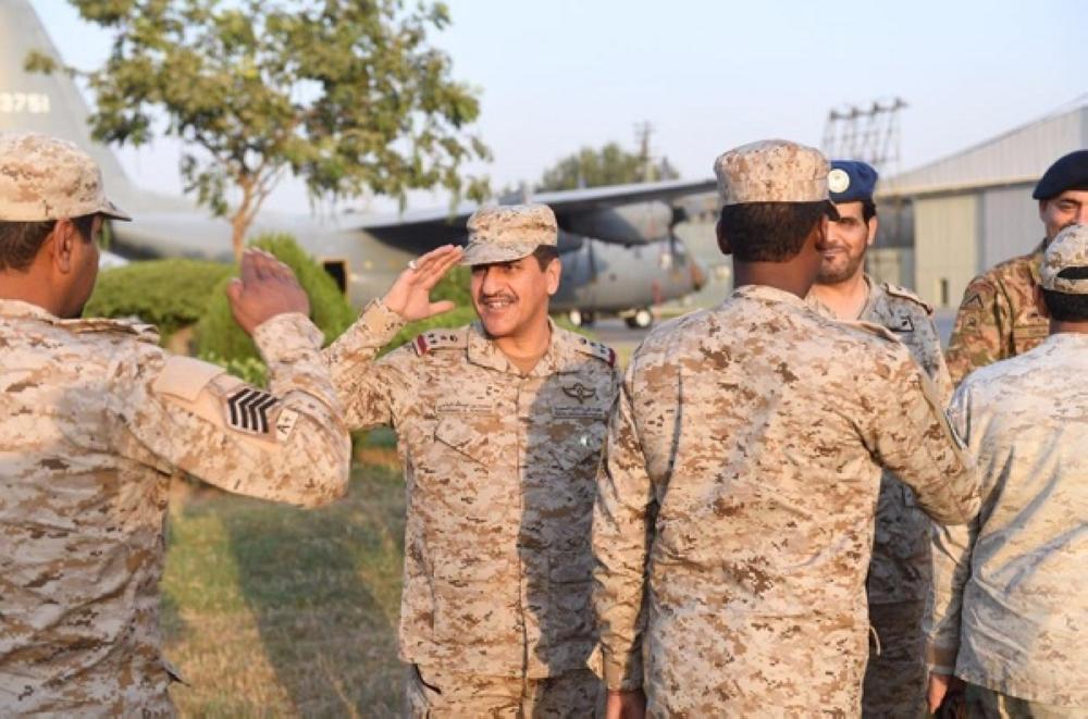 وصول القوات البرية السعودية المشاركة في تمرين «الصمصام 6» في باكستان
