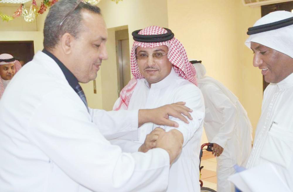 جانب من تدشين الحملة الوطنية ضد الإنفلونزا.