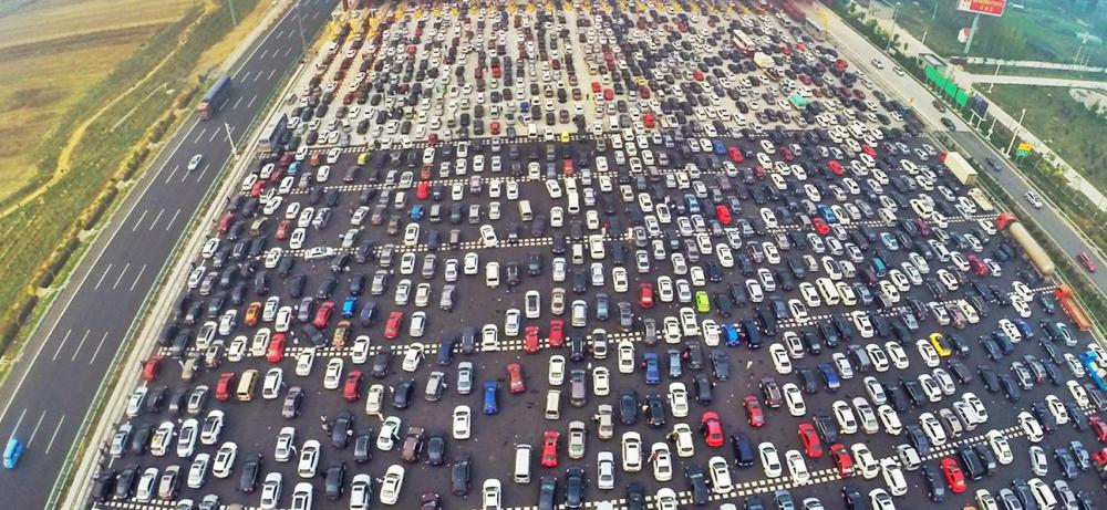 شوارع لوس أنجليس المكتظة.