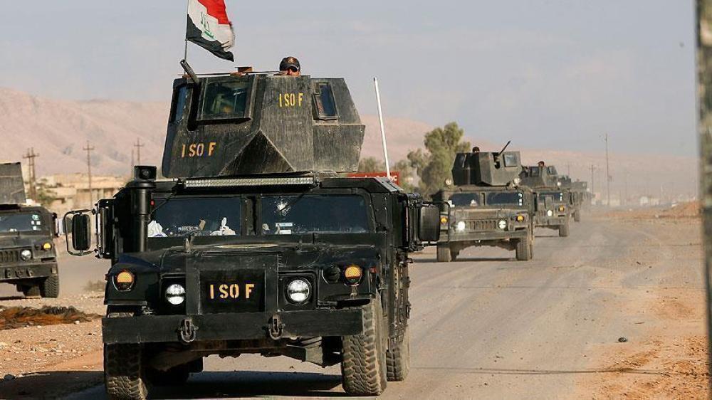القوات العراقية تنفذ هجوم مباغت لاستعادة آبار النفط في كركوك