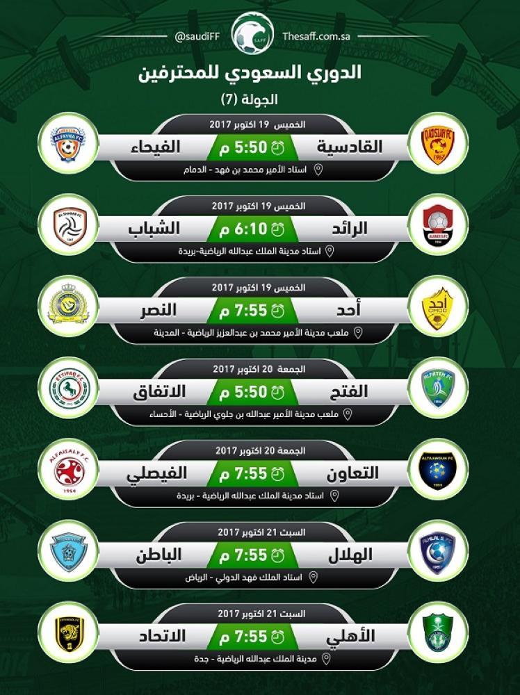 الجولة القادمة من الدوري السعودي 4