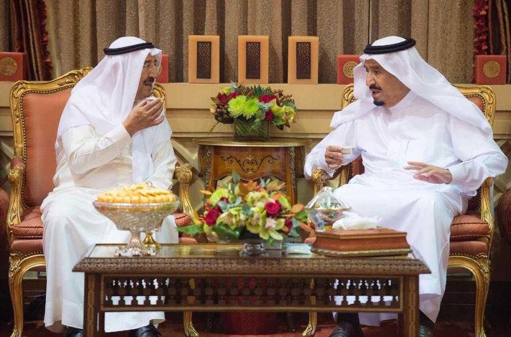 King Salman Receives Emir of Kuwait to discusses regional developments