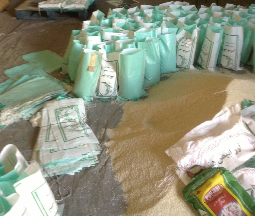 التجارة: الغرامة والإبعاد لمقيم خلط وأعاد تعبئة أرز مغشوش بحائل