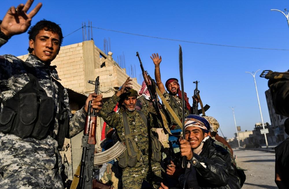 قوات سورية الديموقراطية تطهر الرقة من عناصر