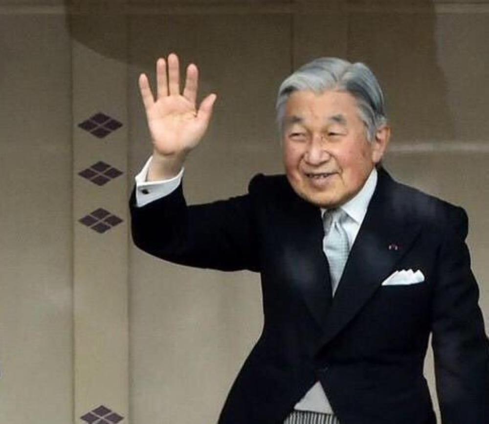 امبراطور اليابان يتنازل عن العرش في مارس