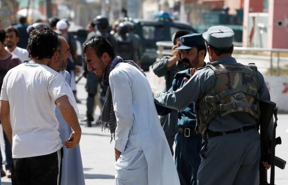 مقتل 50 شخصا بهجومين على مسجدين في أفغانستان