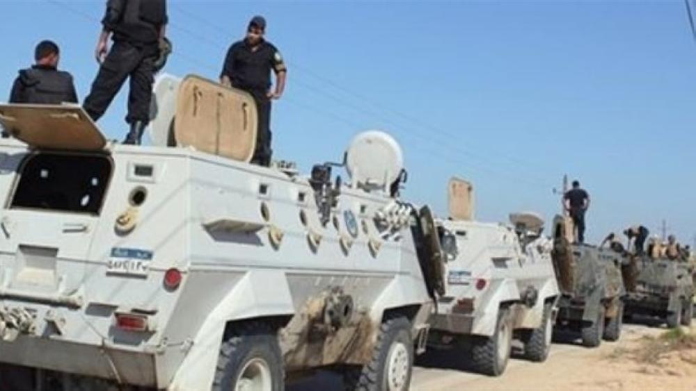 عناصر أمنية مصرية