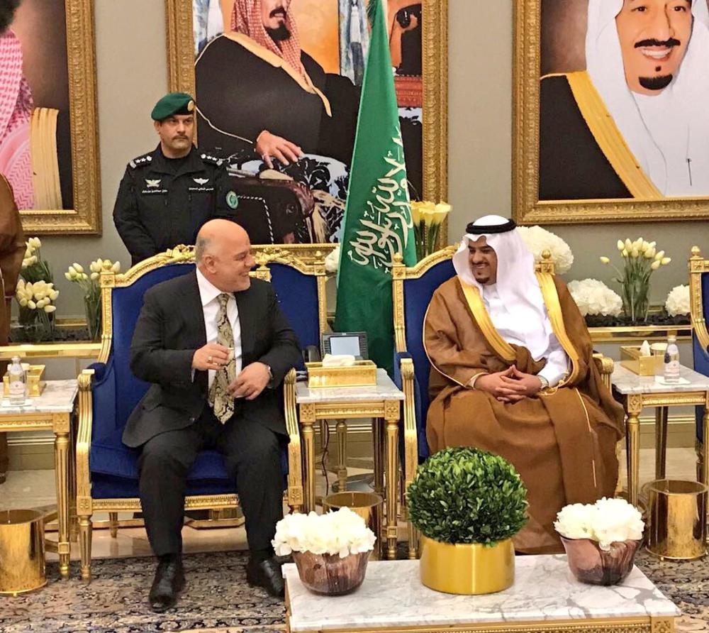 رئيس وزراء جمهورية العراق يصل الرياض