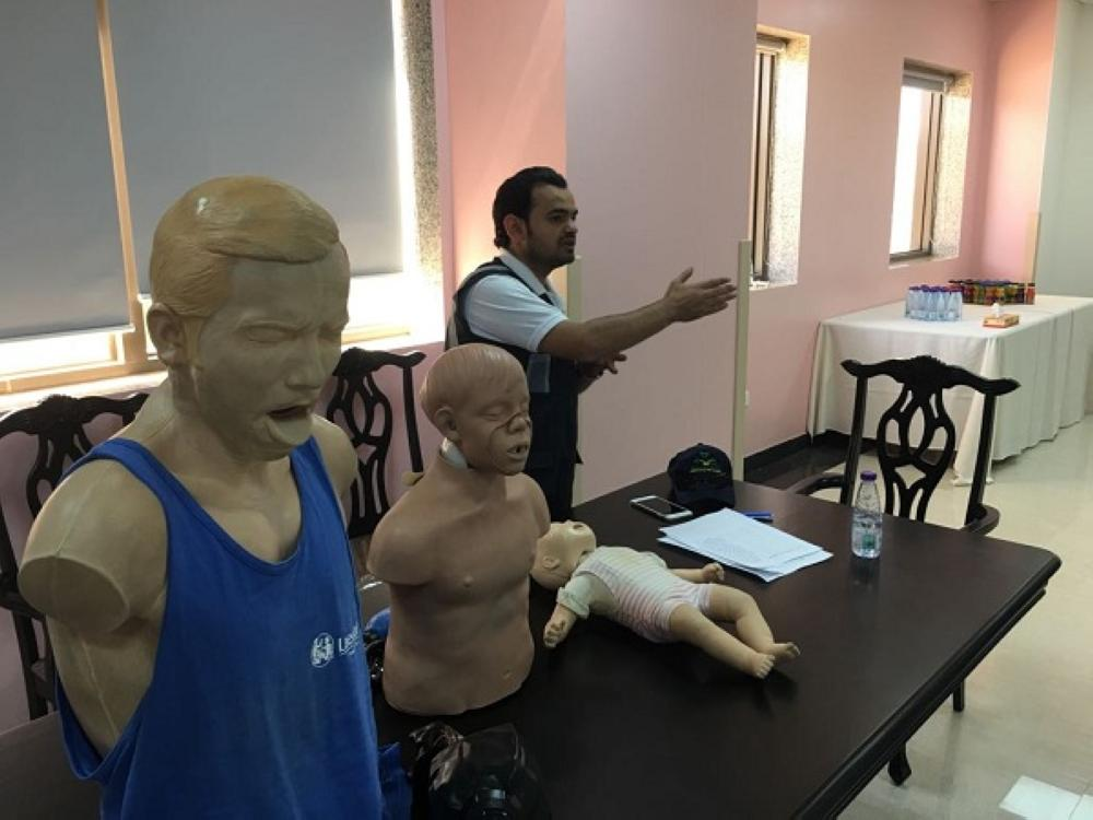 مستشفى أحد رفيدة ينفد برامج صحية تدريبية فنية وإدارية