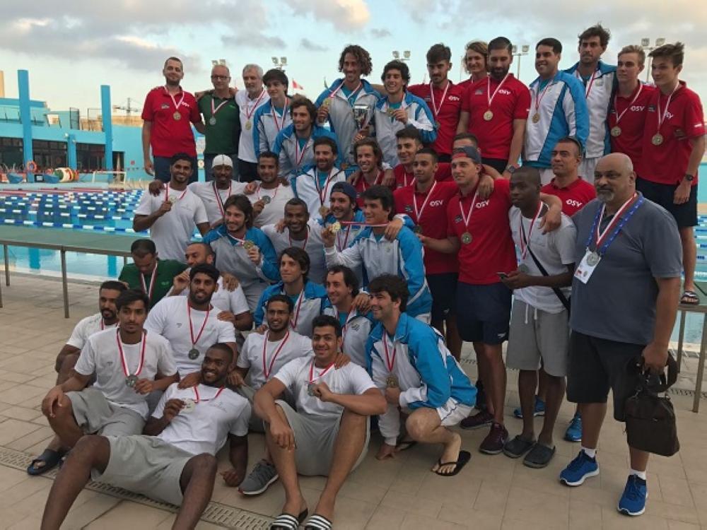 منتخبنا الوطني لكرة الماء توج بالميدالية الفضية
