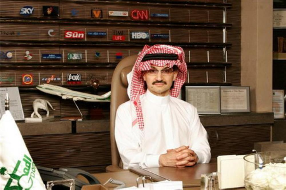 الوليد بن طلال: متفائل بالاستثمار في تويتر