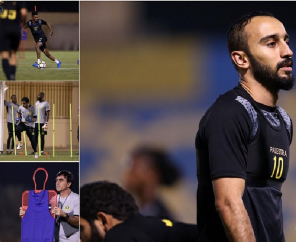 صور منوعة من مران فريق النصر استعداداً لمواجهة الهلال الخميس المقبل