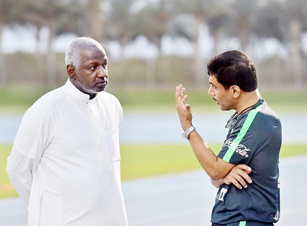 ماجد عبدالله وعمر باخشوين.
