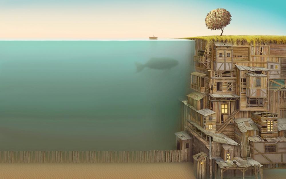 للبحيرات أجنحة