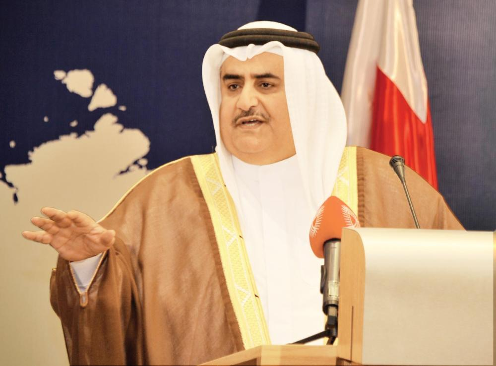 آل خليفة: الخطوة الصحيحة للحفاظ على مجلس التعاون «تجميد عضوية قطر»