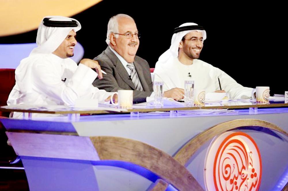 لجنة شاعر المليون أثناء جولة البرنامج أخيرا في الأردن.