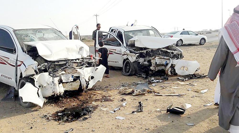 تقاطع أبو القزاز يشهد حوادث قاتلة يوميا. (عكاظ)
