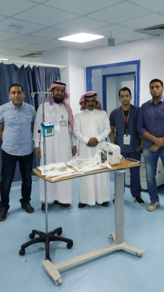 تدشين مضخات التغذية الأنبوبية التفاعلية في مستشفى القريات