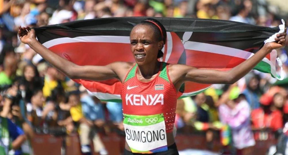 إيقاف بطلة الماراثون الأوليمبية الكينية سامغونغ 4 أعوام