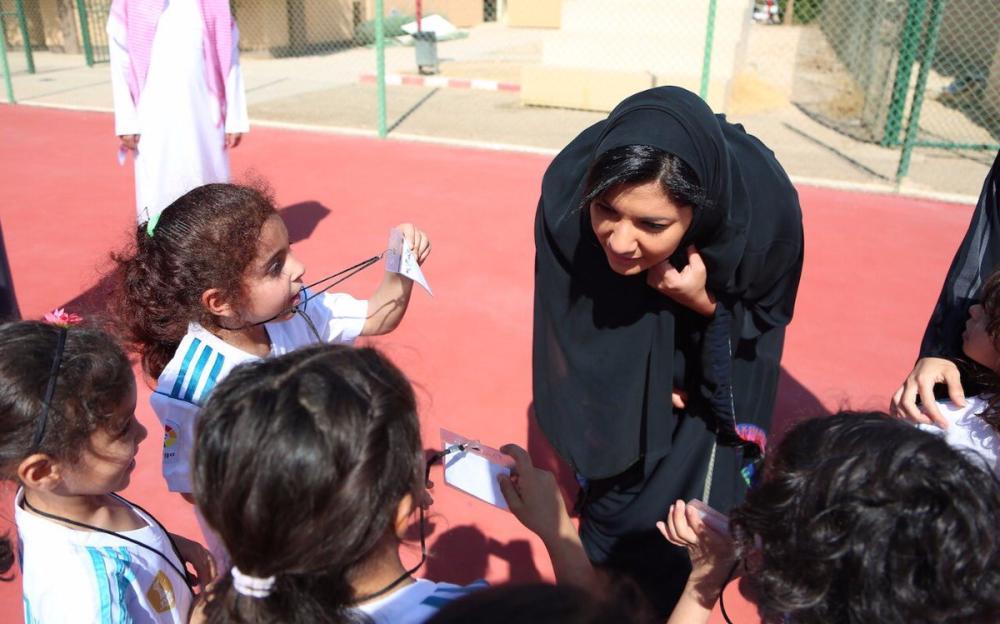 بحضور الأميرة ريما.. اختتام فعالية زيارة براعم «جامعة نورة» للمجمع الأولمبي