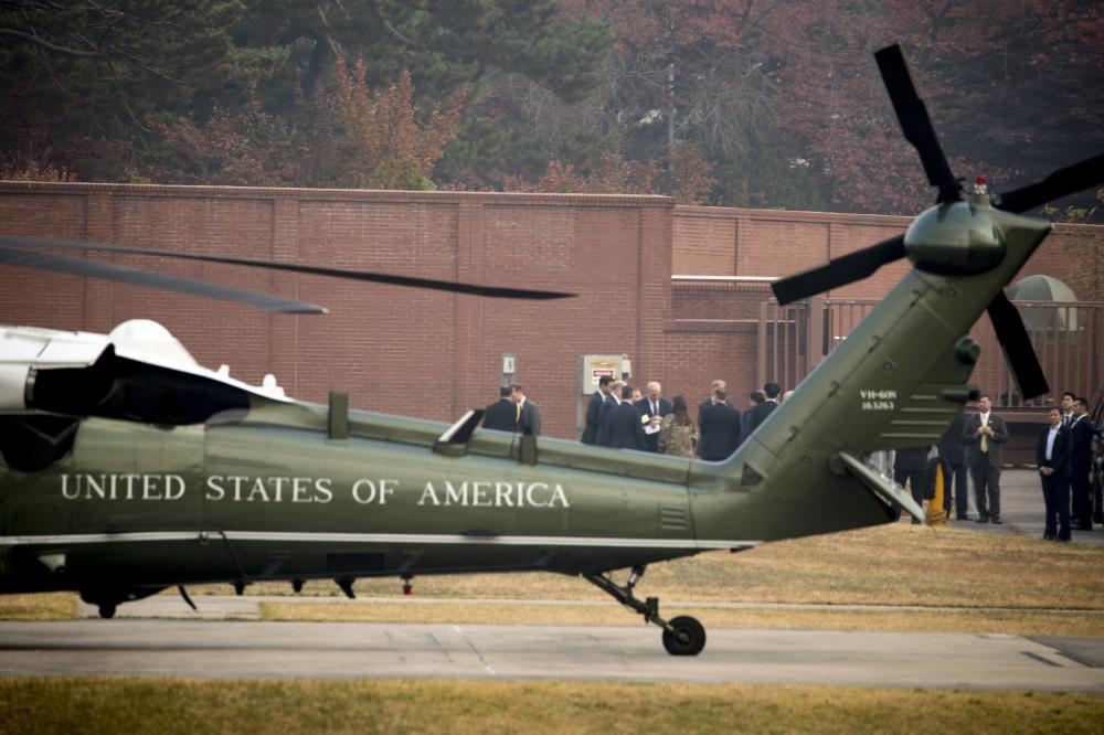 ترامب يلغي زيارة مفاجئة للمنطقة المنزوعة السلاح بين الكوريتين