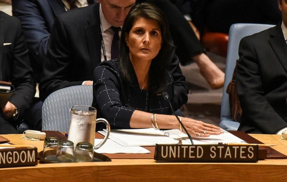 مندوبة واشنطن الأممية: استهداف السعودية بالصواريخ الإيرانية انتهاك صارخ
