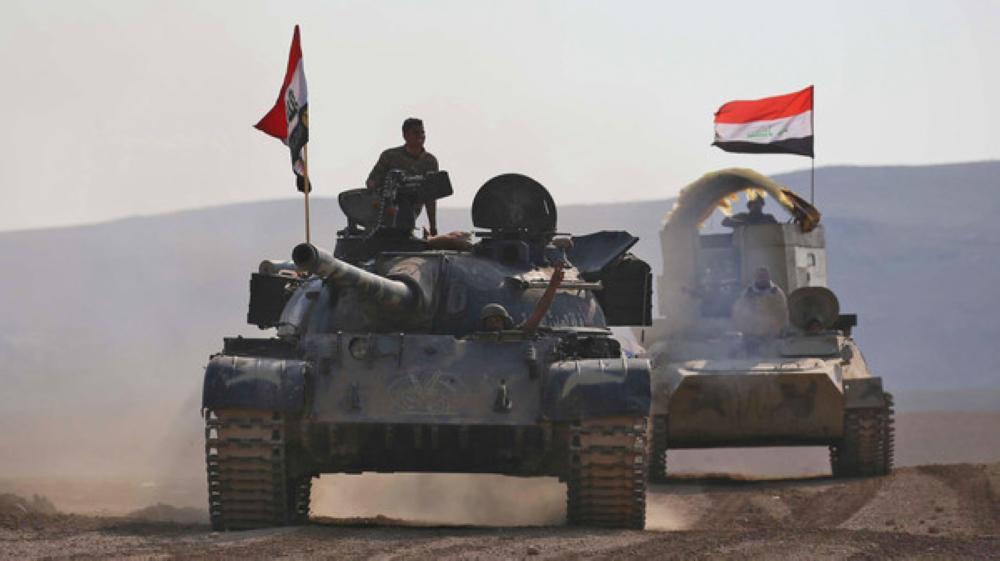 القوات العراقية تباشر عملية تحرير رمانة من قبضة «داعش»
