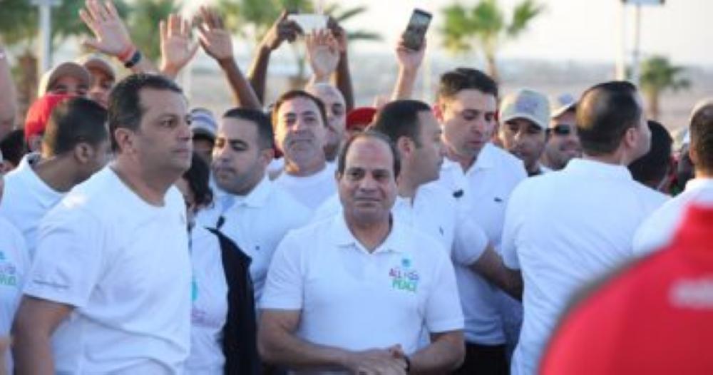 السيسي: تجمع شباب العالم في مصر هدفه إشاعة الحوار والسلام