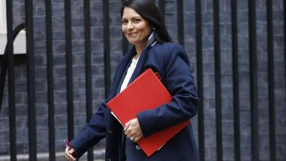 وزيرة التنمية الدولية البريطانية بريتي باتيل