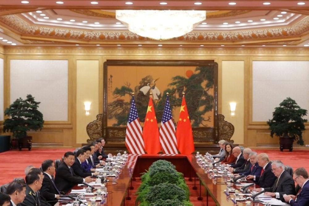 اجتماع الصين وأمريكا