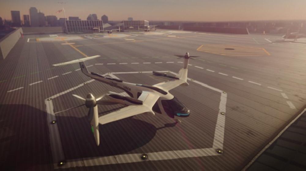 «أوبر» ستبدأ اختبار خدمة التاكسي الطائر بمركبة تسع أربعة أشخاص في لوس أنجليس عام 2020
