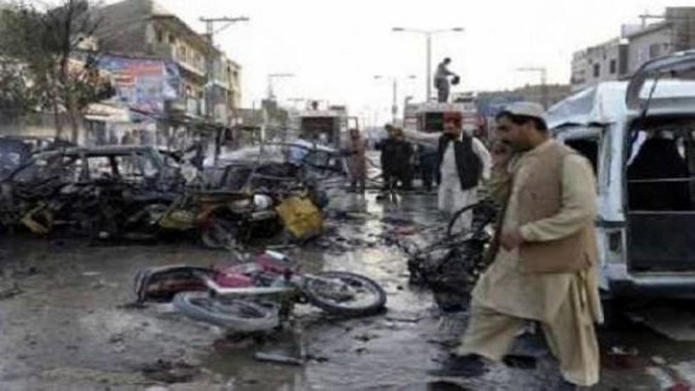 مقتل 3 أشخاص بهجوم انتحاري جنوب غرب باكستان