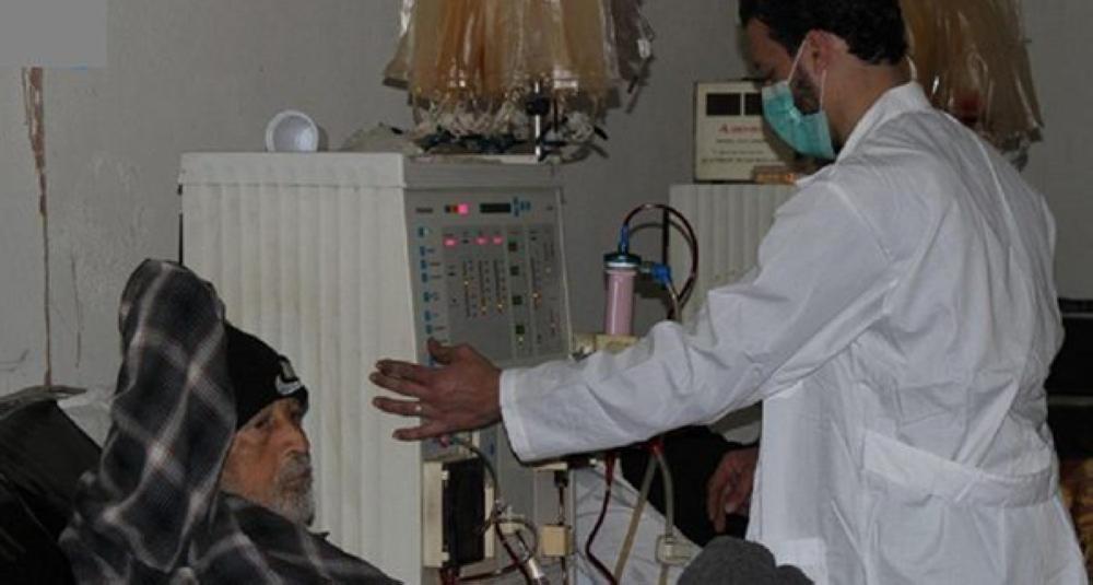 المرضى في الغوطة الشرقية
