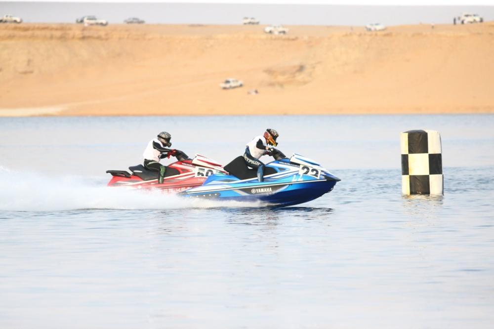 ختام المرحلة الأولى في بطولة الدبابات البحرية الخليجية بدومة الجندل