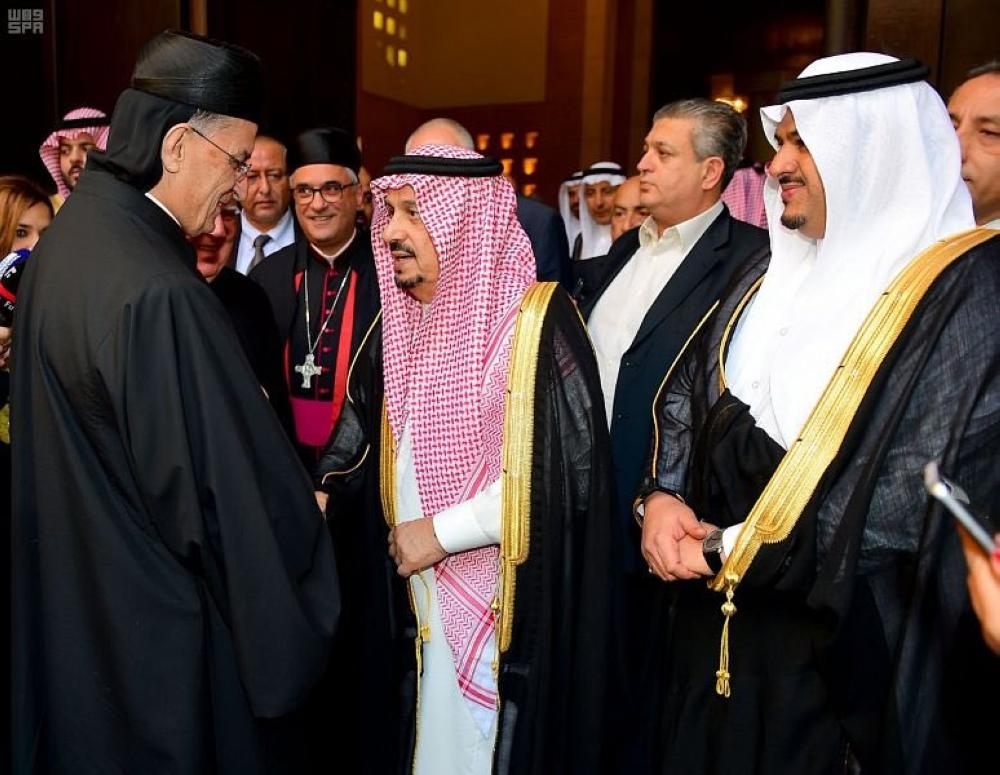 أمير الرياض يحتفي بالراعي