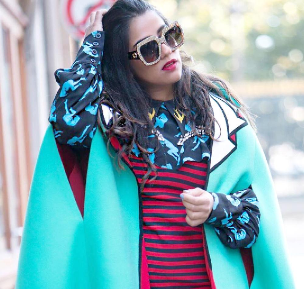 عفيفي: الجرأة تصنع الموضة