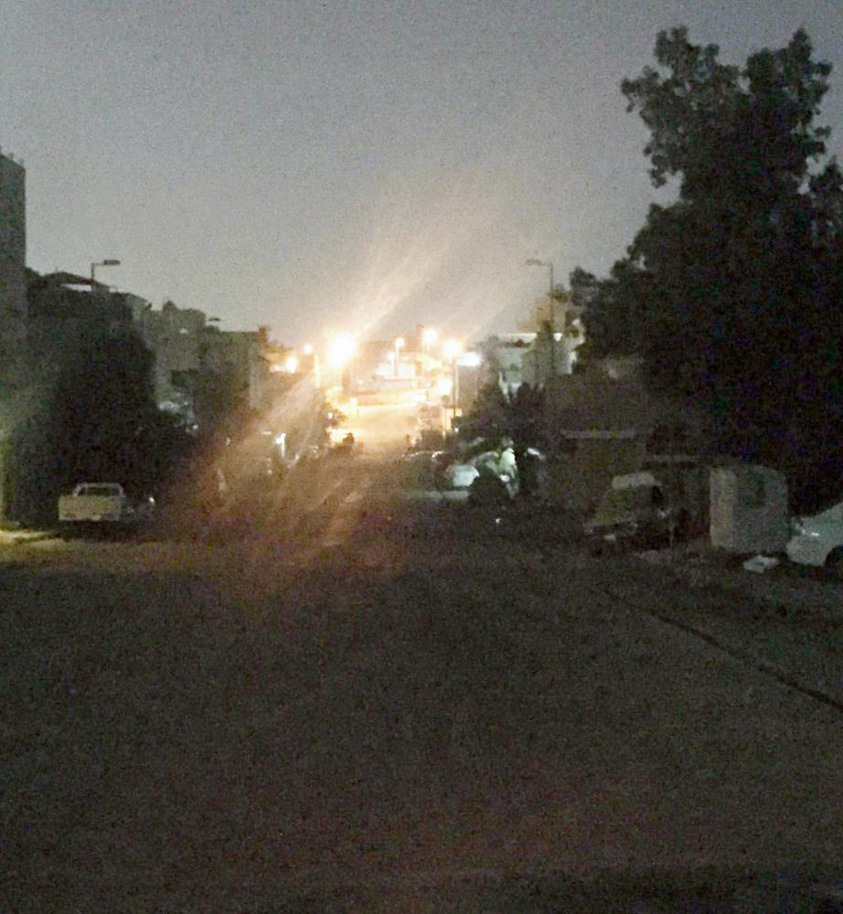 مسرح الحادثة في حي الأجواد.
