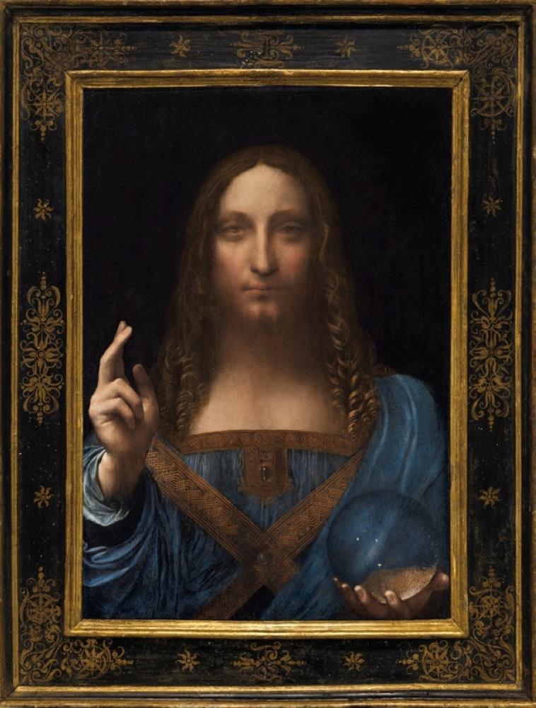 لوحة «سالفاتور مندي» لدافينشي